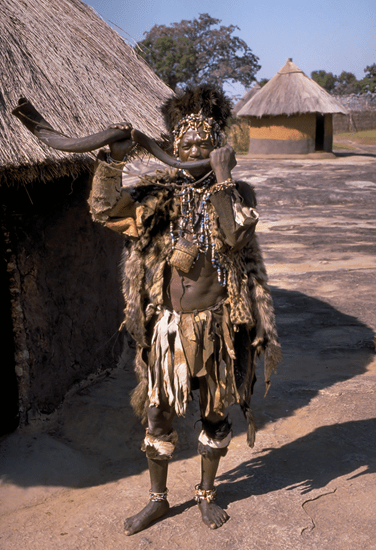African witchdoctor