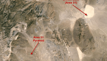 Where is area 51 on the map