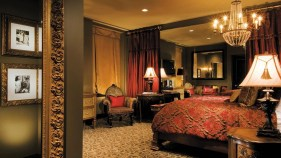 This is what a typical Hotel ZaZa room looks like
