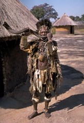 African witchdoctor (sangoma)