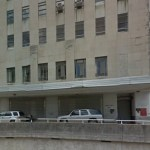 Portion of old Charity Hospital building on Tulane in New Orleans