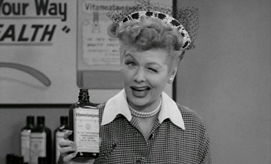 The beloved Lucille Ball