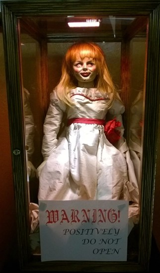 Doll from the movie The Conjuring