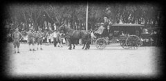 Funeral procession of Villisca Axe murder victims - June 12, 1912