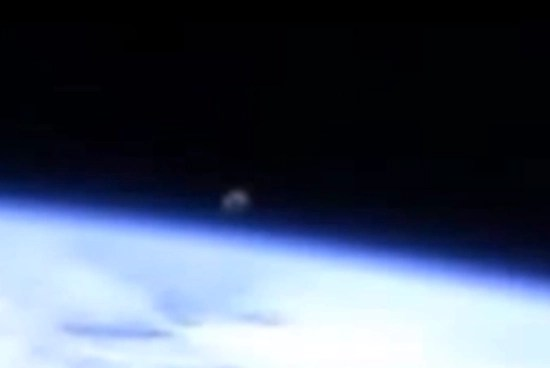 NASA cuts video feed (again) as enormous UFO captured rising above Earth
