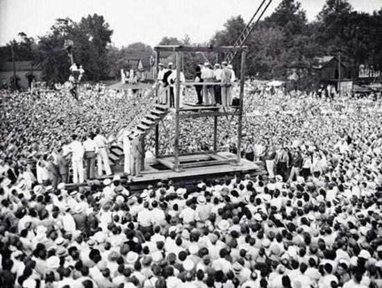 The last ever public execution in the United States – 1936