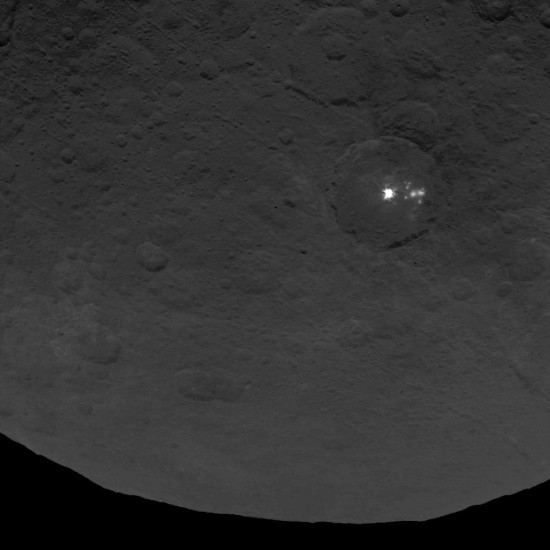 Ceres DwarfPlanet Dawn 2nd Mapping Orbit image