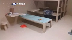 Earlier photo of the Sandra Bland crime scene shows a closed Bible on the jail cell bed