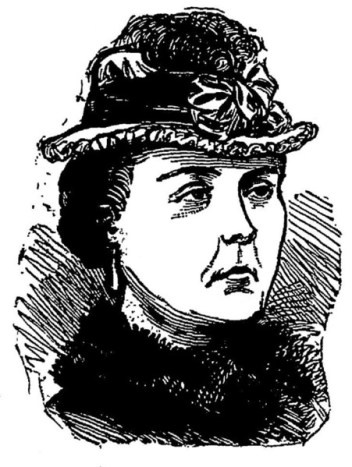 Kate Webster as depicted by The Penny Illustrated Paper and Illustrated Times