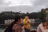 Huge cloaked UFO photographed travelling over China and India by many witnesses
