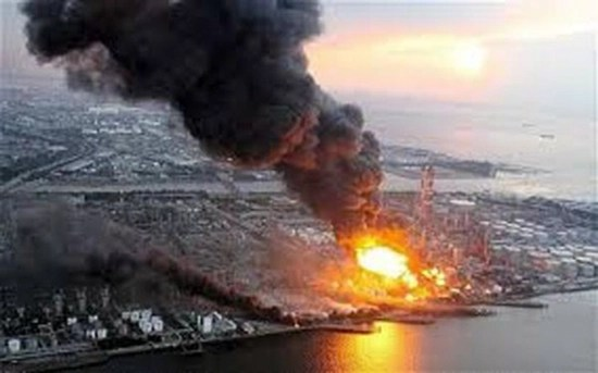 Japan's Fukushima nuclear power plant explosion - March 2011