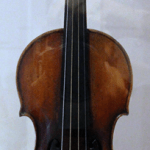 The violin lent, and later given, to Niccolo Paganini by a wealthy businessman