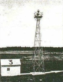 A Transcontinental Airway beacon station