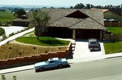 The home of Lyman and Charlene Smith's home on High Point Drive in Ventura County, CA