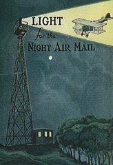 An early promotion touting the benefits of the new (and expensive) Transcontinental Airmail Route