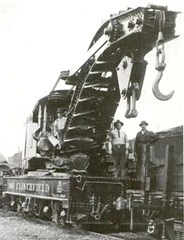 The crane which Mary was hanged from