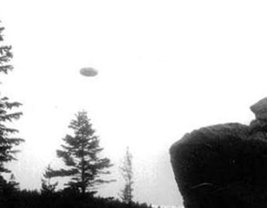 UFO over Czaplinek, Poland. 1947