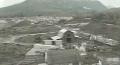 Pickton pig farm in Port Coquitlam, British Columbia during the early 1990's