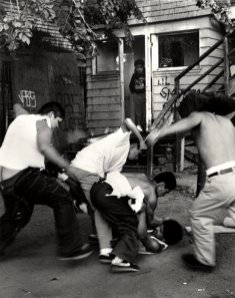 MS-13 gang initiation (beat-in)