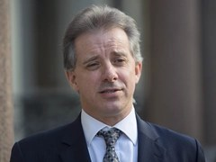 Ex-British spy Christopher Steele compiled the Donald Trump dossier
