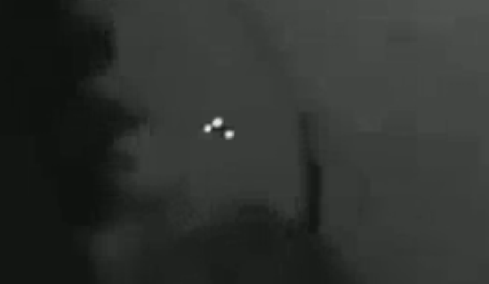 Clear video yet of a triangular-UFO, potentially the top-secret TR-3 Black Mantra black project aircraft