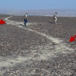 Nazca Lines as seen from the ground
