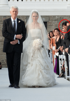 Ghislaine Maxwell and Chelsea Clinton wedding