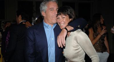 Jeffrey Epstein with Ghislaine Maxwell