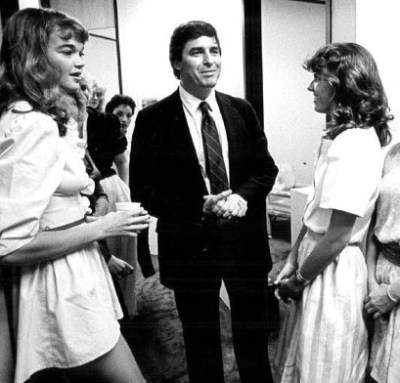 John Casablancas with two young girls