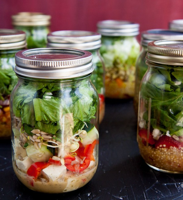 How To Make A Salad In A Jar