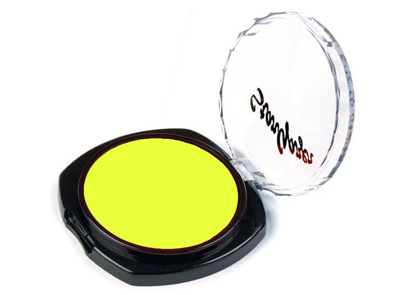 Flourescent Eye Shadow - Lemon Yellow