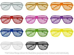 Shutter Shades - Various Colours