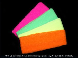 Neon Headbands - Pink, Yellow, Green, Orange