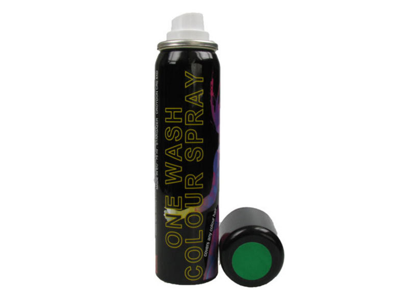 Colour Spray for Hair & Wigs - UV Green