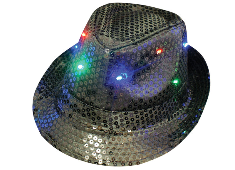 Flashing Trilby Hats   Fedora Hats - AlterEGlow a9dfd549923