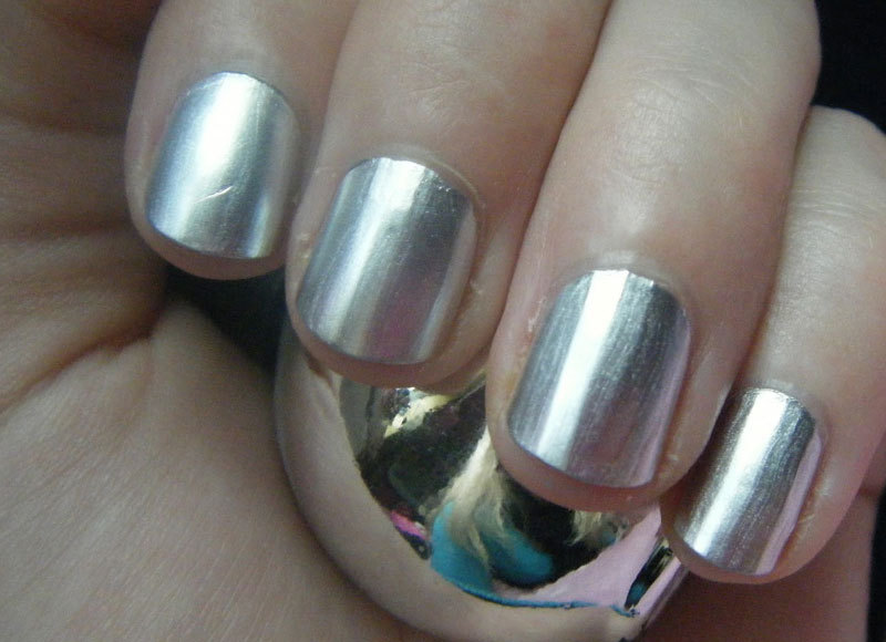 Chrome Nail Polish - Silver