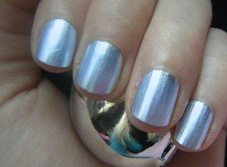 Chrome Nail Polish - Blue