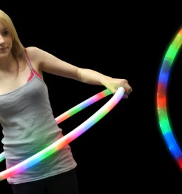 """LED Flashing Hula Hoop 27"""""""