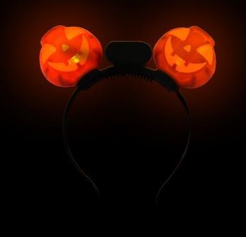 Light-Up Pumpkin Headboppers