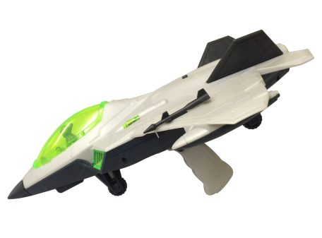 Fighter Jet Toy Side with Handle