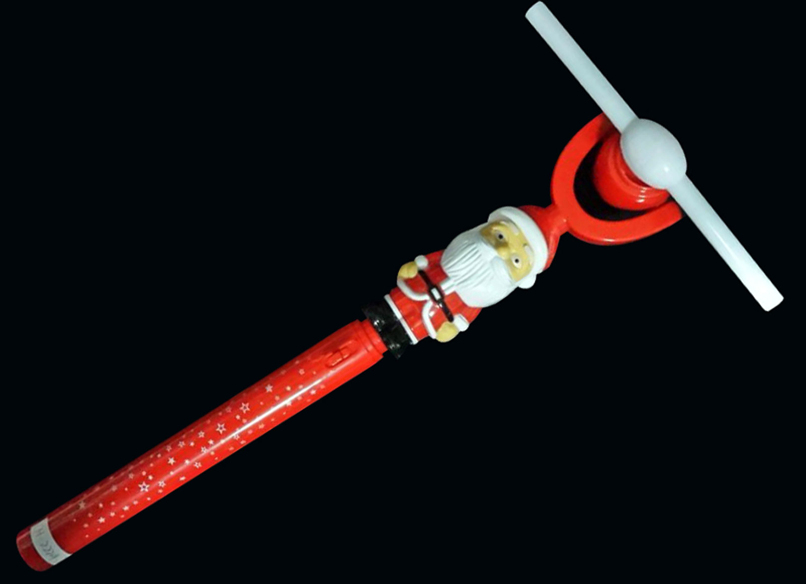 Santa Swivel Fan Wand
