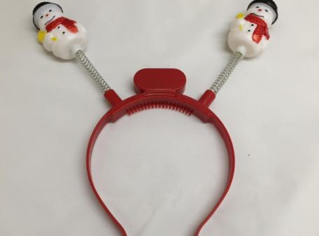 Light-Up Snowman Boppers