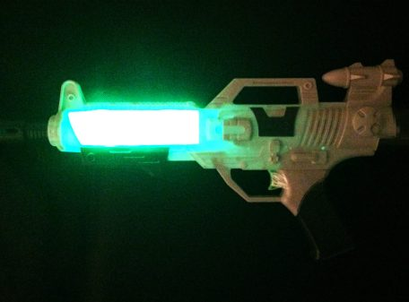 Space Wars Gun - With Lights On