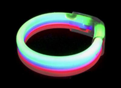 Triple Glow Bracelet Tri-Colour
