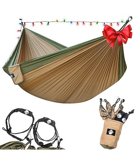 2. Lightweight Parachute Portable Hammocks