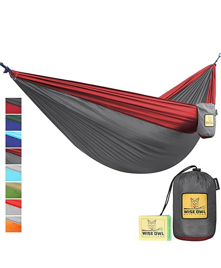 4. The Ultimate Single & Double Camping Hammock