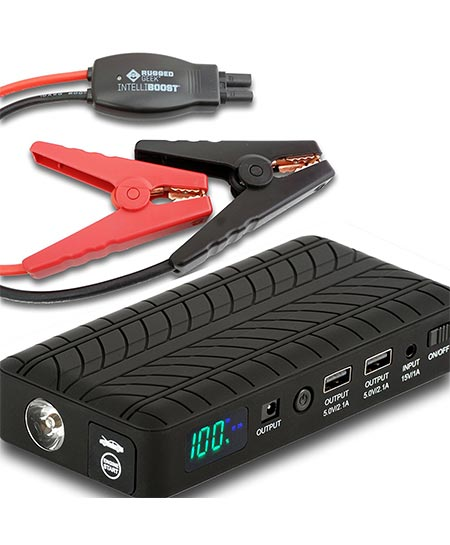 8. Rugged Geek RG1000 Portable Lithium Booster Jump Starter