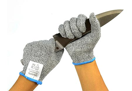 4. UncleHu Cut Resistant Gloves