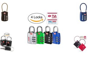 61226f929c7f Best Luggage Locks with TSA Approved reviews in 2019