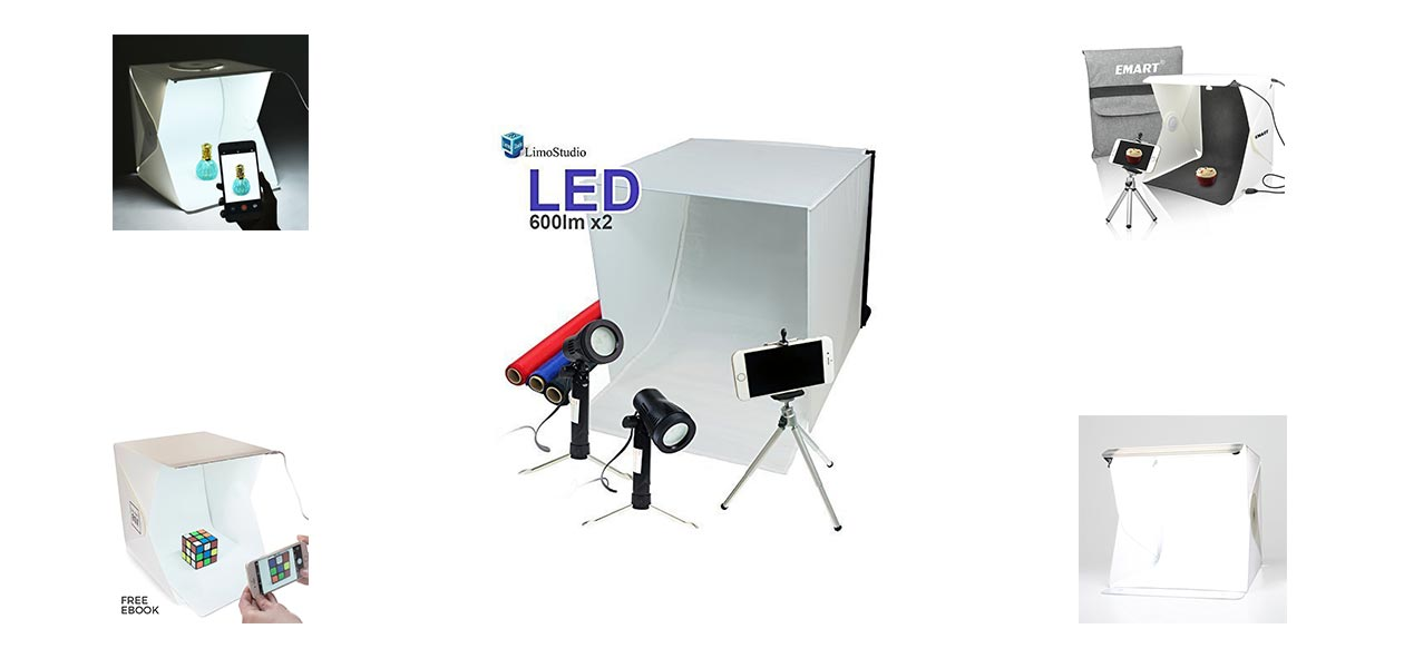 Best LED Foldable Photo Light Boxes Reviews in 2018